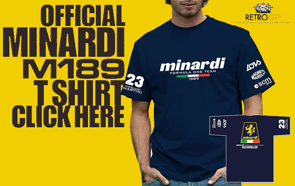 Official Minardi M189 T-Shirt