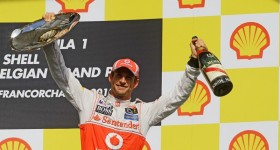 02.09.2012- Race, Jenson Button (GBR) McLaren Mercedes MP4-27 race winner