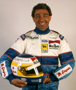 Michele Alboreto in Minardi