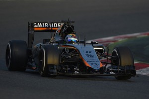Force India_Test Barcellona