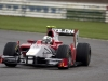 GP2 Series Testing.Silverstone, England. Tuesday 5th April 2011. Davide Rigon (ITA, Scuderia Coloni). Action. World Copyright: Malcolm Griffiths/GP2 Media Service. Ref: __H0Y6666.jpg